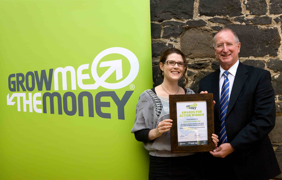 Grassroots Productions win Grow Me The Money Award